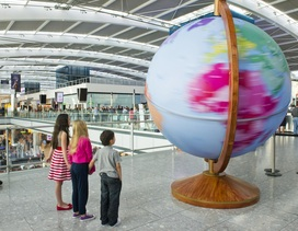 Heathrow puts its destinations on the map